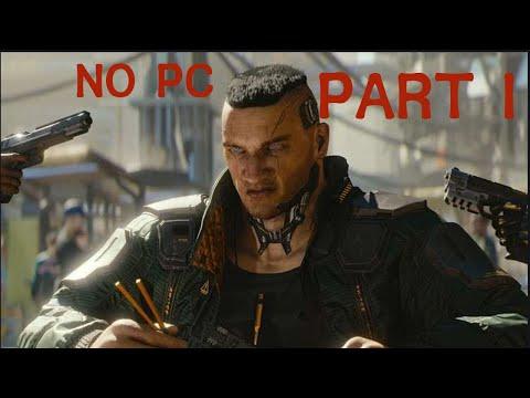 Cyberpunk 2077 PART 1 BREAKDOWN GAMEPLAY PS4/PS5