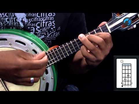 Péricles - Se Eu Largar o Freio (como tocar - aula de banjo de samba)