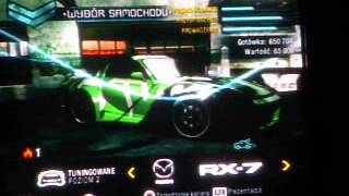 NFS Carbon - Mazda RX7 Kenji vs Murcielago Wolf