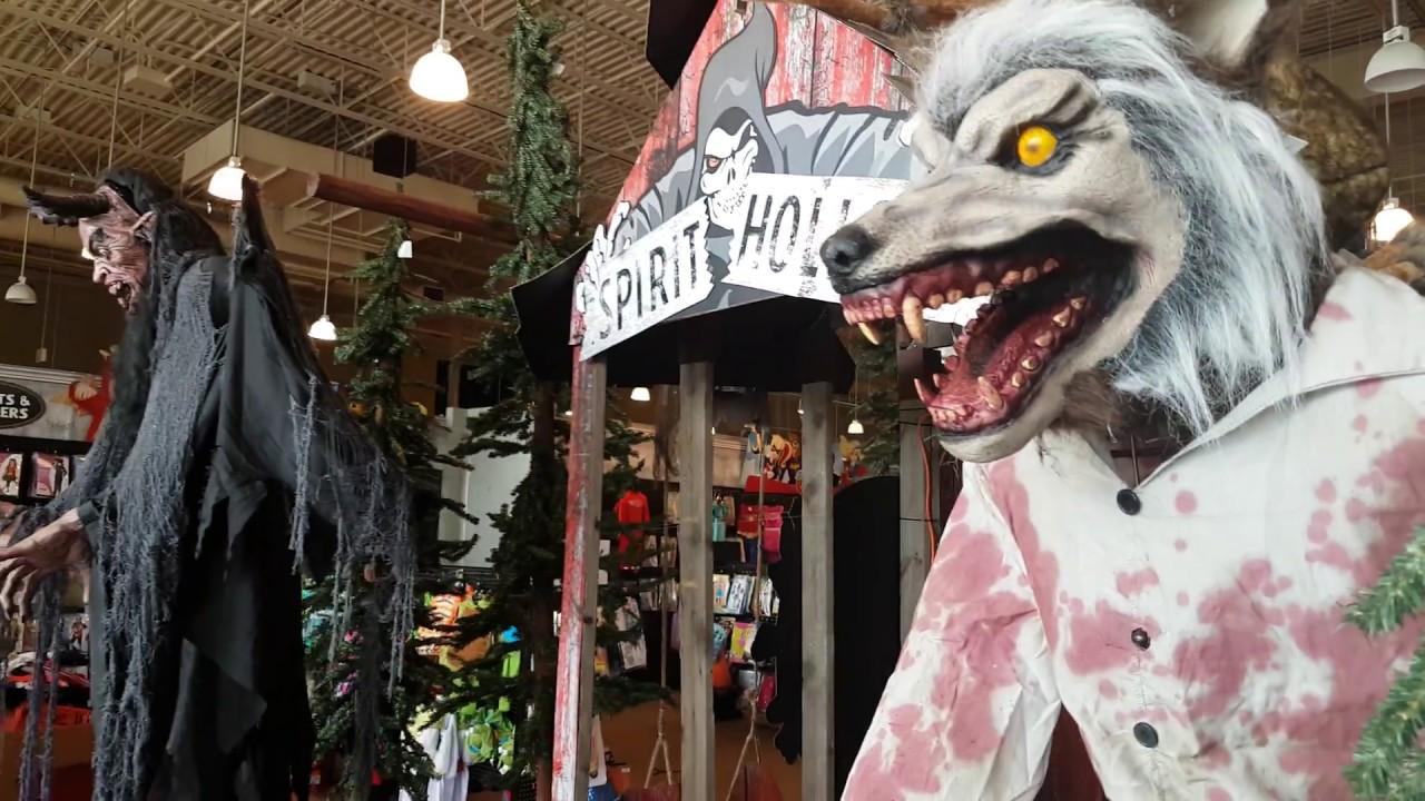 spirit halloween store tour/walkthrough - canada - youtube