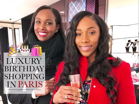 Luxury Birthday Shopping in Paris | Chanel | Louis Vuitton | Saint Laurent