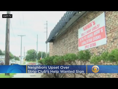 Deuce - Neighbors Upset Over Strip Club's Help Wanted Sign