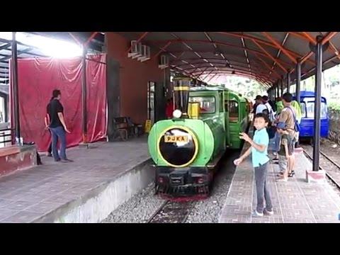 HOREE! KERETA API TAMAN MINI BEROPERASI LAGI! Stasiunnya Lebih Besar | Trip Mei 2017 Msh Uji Coba