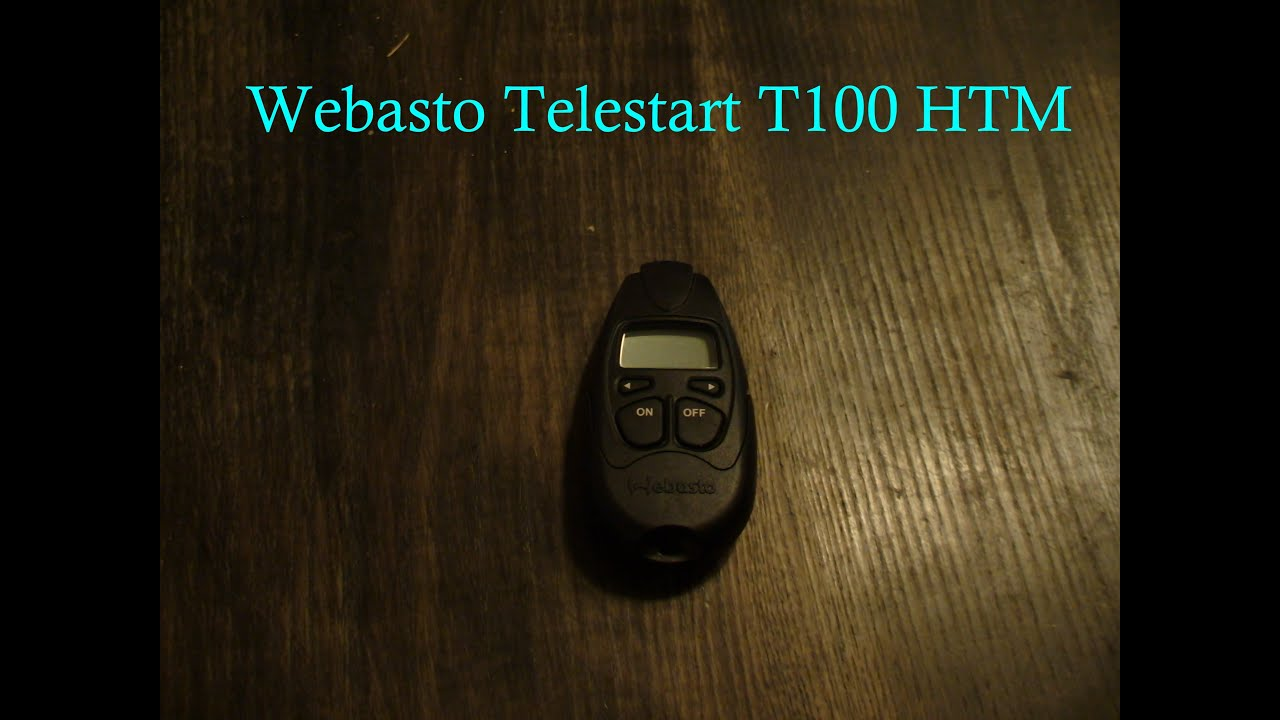 webasto telestart t100 htm all features youtube