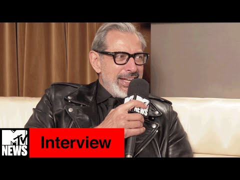 Jeff Goldblum Hints at Future Superhero Role & Talks Independence Day  | MTV News