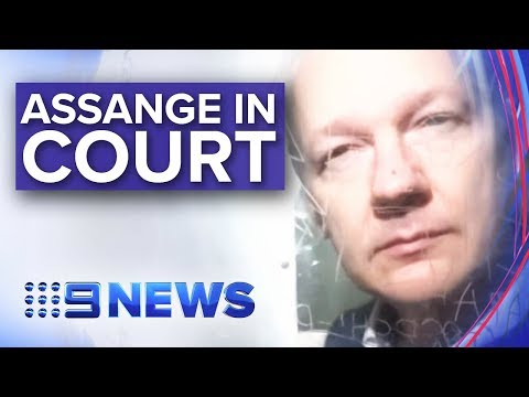 Wikileaks founder Julian Assange fronts London court | Nine News Australia