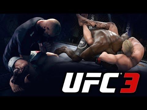 TREINEI na ACADEMIA TOP de JIU JITSU | S2 #9 EA Sports UFC 3 Modo Carreira PT/BR