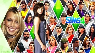 The Sims 4 Katie Cassidy -  Katherine Evelyn Anita Cassidy