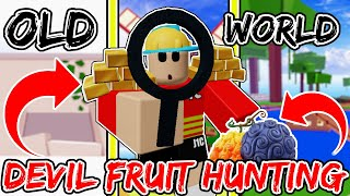 Finding Devil Fruits In The OLD WORLD!? (BETTER FRUITS?) BLOX FRUIT