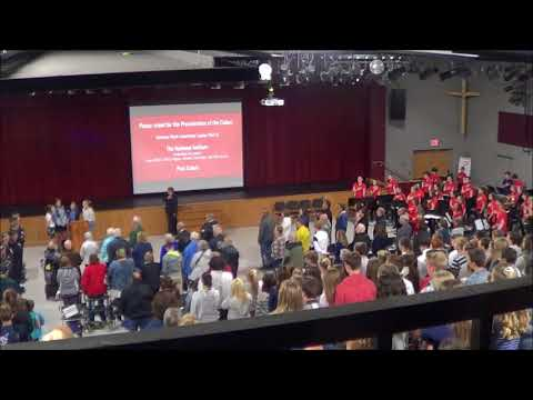 Pacelli Catholic High School Veteran's Day Service 2017