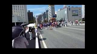 新潟市・沼垂町(ぬったりまち)合併 100 周年記念事業 萬代橋 de 100 年婚 8月 23日, 2014年