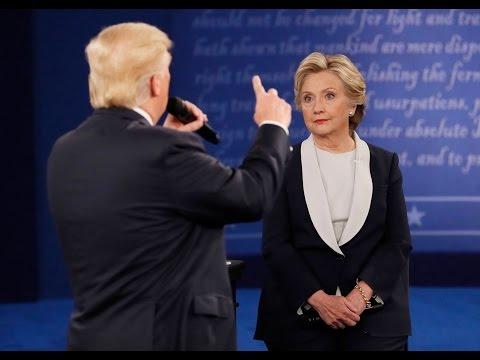 Les 5 moments les plus agressifs du débat Trump-Clinton