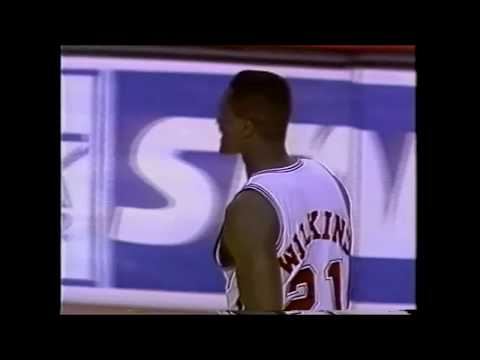 Dominique Wilkins (Clippers): 37 Points Vs Golden State (4-18-1994)