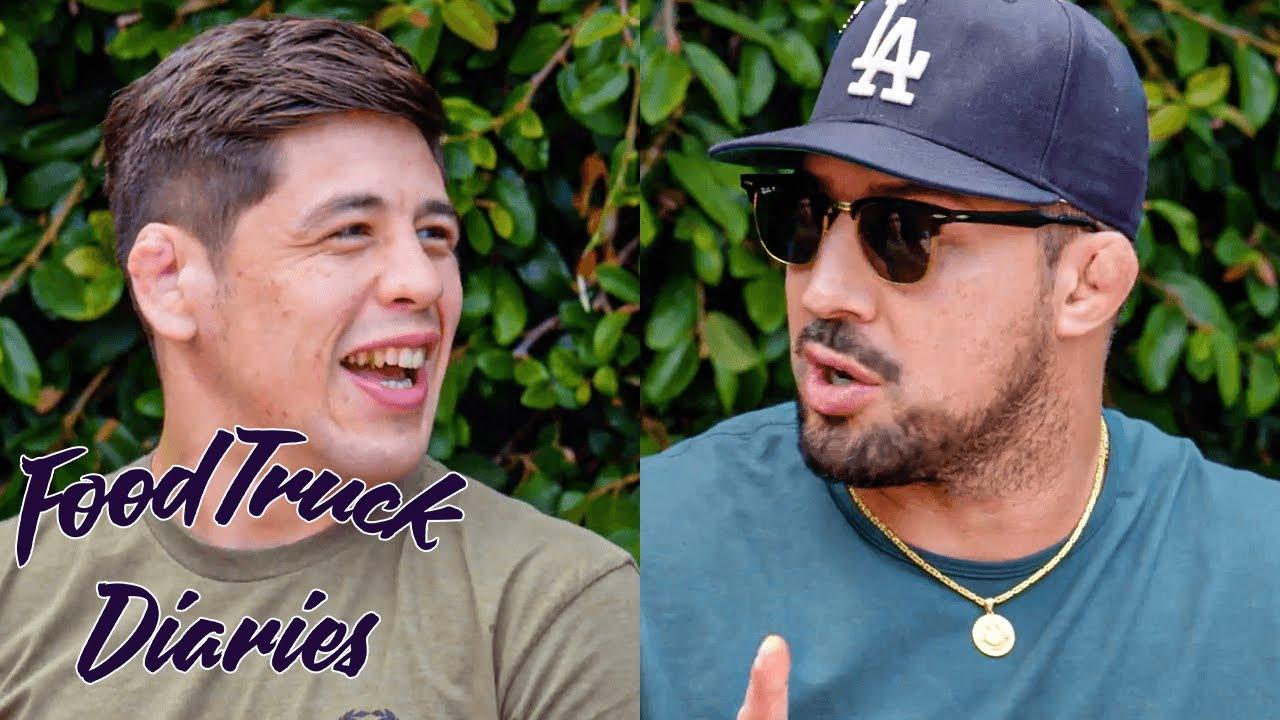 Brandon Moreno | Food Truck Diaries | BELOW THE BELT with Brendan Schaub