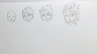 How To Tutorials - How to draw Anime/Manga faces for Aging Characters