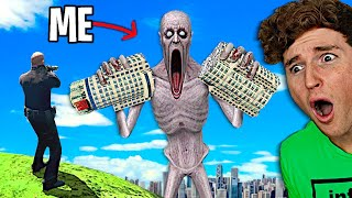 Playing As SCP-096 In GTA 5.. (RAMPAGE)
