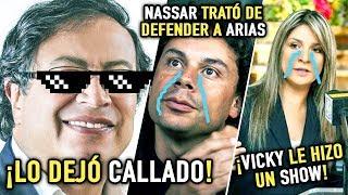 Petro PEINÓ a Hassan Nassar y dejó MAL PARADA a Vicky por entrevista en La W