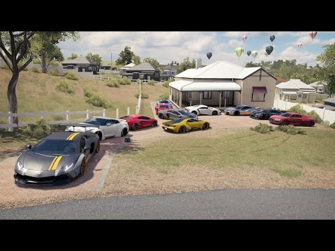 Forza Horizon 3 Supercar Car Show, Cruise, Airport And Tunnel Drags, Flag Rush, Drone + More!