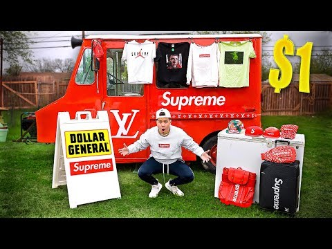 I Opened A Supreme DOLLAR Store