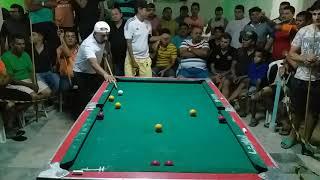 Baianinho de Mauá vs Lorin de Fortaleza, 4x4 na SINUCA em Nova Olinda-CE, VÍDEO 01
