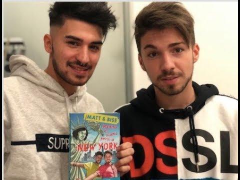 Matt & Bise presentano il nuovo libro Mamma, ci siamo persi a New York