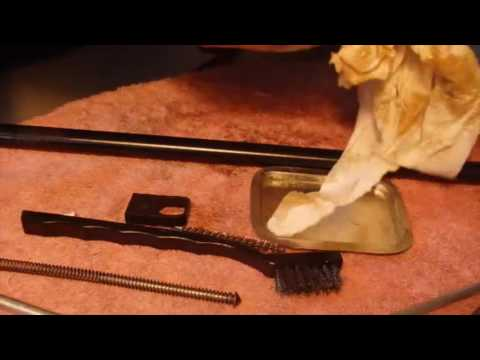 Cleaning the Remington Mohawk 10 C