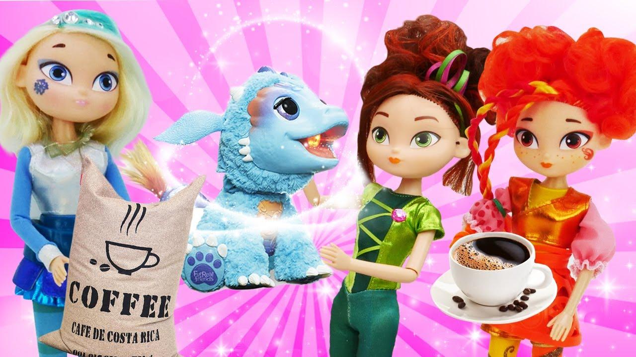 Онлайн видео - Куклы Сказочный Патруль и Барби! Лечим зубы ...