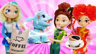 Онлайн видео - Куклы Сказочный Патруль и Барби! Лечим зубы и делаем Кофе! - Весёлые игры для девочек