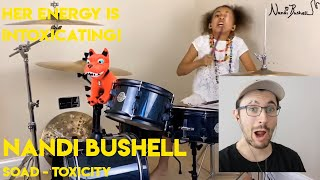 Drum Teacher reacts to Nandi Bushell (System of a Down - Toxicity - Download Festival TV 2020)