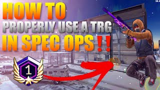 Critical Ops How To Properly Use The TRG in Spec Ops‼️