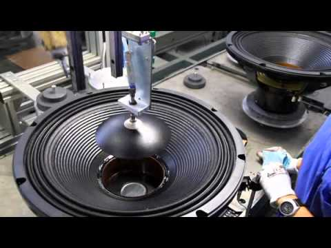 EIGHTEEN SOUND LOUNDSPEAKER MANUFACTURING LINE