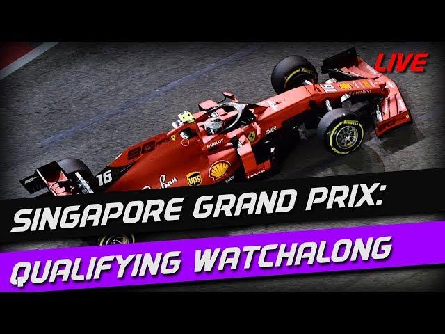 Singapore Grand Prix: Qualifying Watchalong