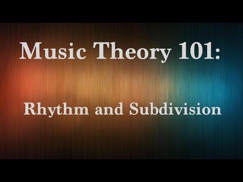 Music Theory 101: Rhythm & Subdivision