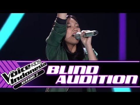 Angel - Young Dumb And Broke | Blind Auditions | The Voice Kids Indonesia Season 3 GTV 2018