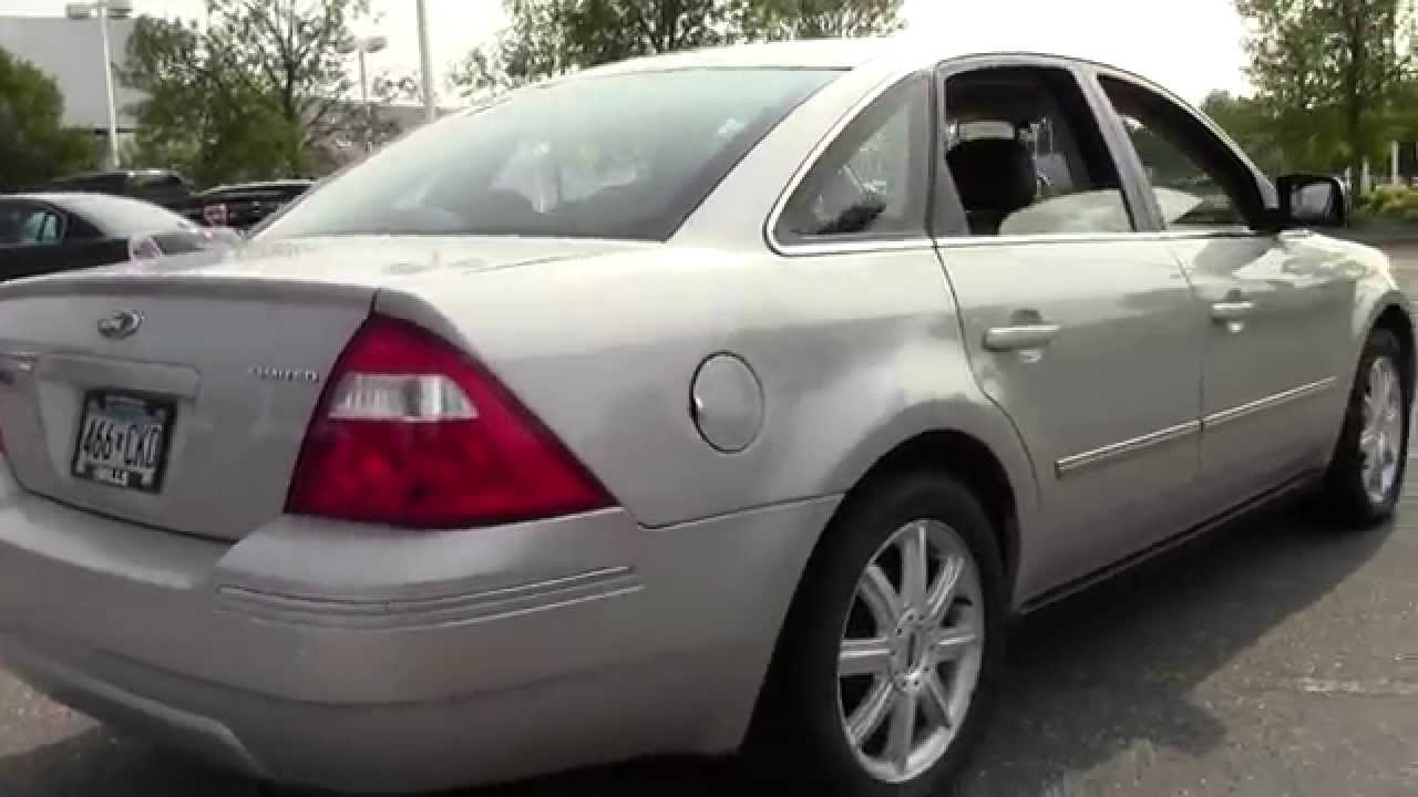 2006 ford five hundred limited awd low miles 1u140113a youtube