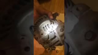 Замена, ремонт подшипников генератора Honda civic 4d 2007 года