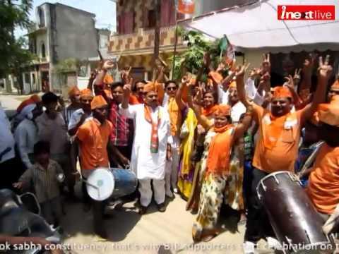 Varanasi: Celebration for Modi's grand victory