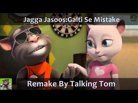 Galti Se Mistake Talking Tom Version Video Song | Ranbir, Katrina | Pritam, Arijit, Amit | Amitabh B