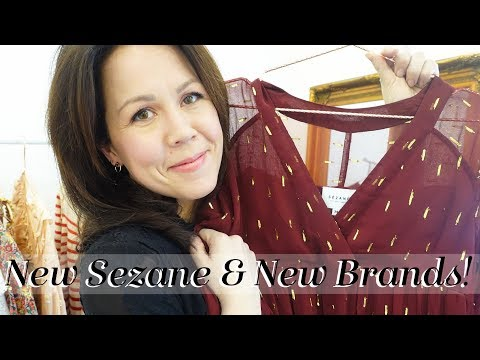 Latest from Sézane & New Brands! Online shopping & Try-on!