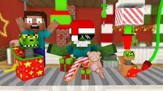 Monster School: WORK AT TOY FACTORY PLACE! - Minecraft Animation