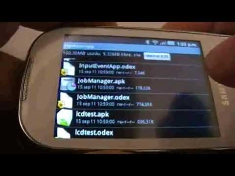samsung I5500 galaxy 5 europa con android 2 2 root user mp4