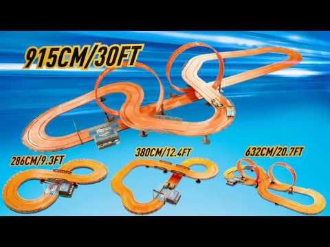 KidzTech Toys - Hot Wheels Slot Racing Track