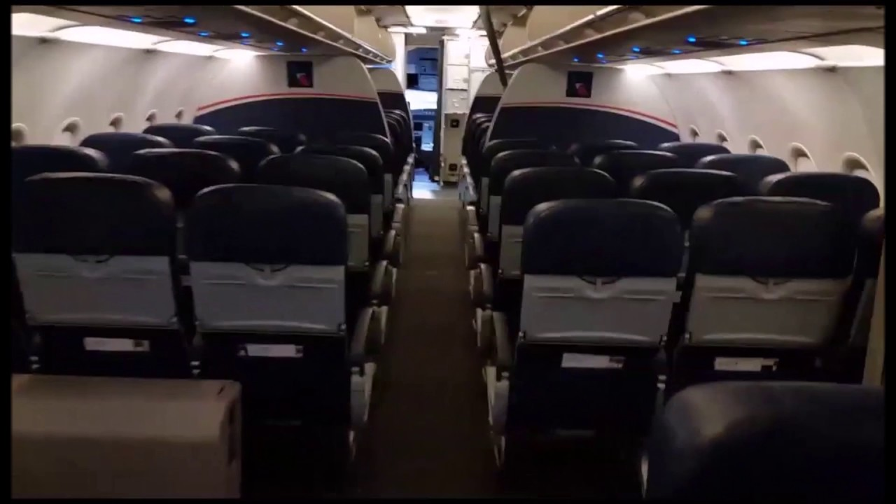 Cabin Tour American Airlines Us Airways Airbus A321 Non Refurb