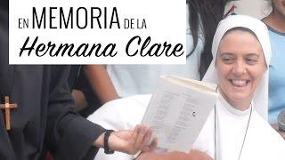 en memoria de la hermana clare