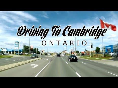 Driving To Cambridge, Ontario - Canada