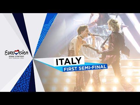 Måneskin - Zitti E Buoni - Italy ?? - First Semi-Final - Eurovision 2021