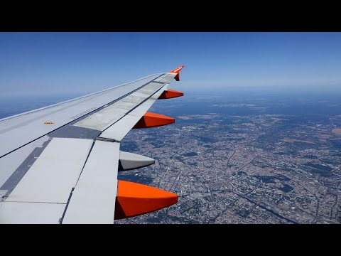 Easyjet Full Flight | Berlin Tegel - Frankfurt | Airbus A319