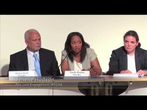 NYCHA Town Hall Meeting: Manhattan Borough President Gale Brewer
