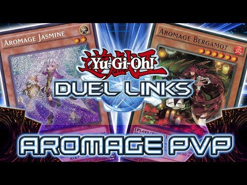 AROMAGE PLANTS ARE AWESOME! Kaiba Corp Cup PVP! YuGiOh Duel Links
