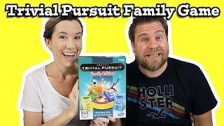 Trivial Pursuit Family Edition Game Kids vs Parents